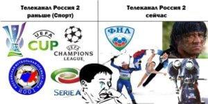 телеканал Россия спорт раньше и сегодня
